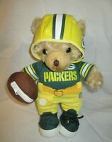 RARE Green Bay Packers National Football League Coaching Teddy Bear NFL