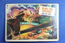 1954 Topps Scoop - #49 Black Tom Explodes - Good Condition