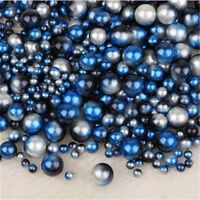 Wholesale 3-12mm Rainbow Color No Hole Acrylic Beads DIY Jewelry Making