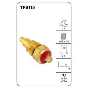 Tridon Thermo Fan Switch TFS115 fits Ford Meteor 1.5 (GA,GB), 1.6 (GC), 1.6 E...