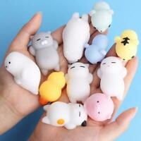 Mini Cute Cat Mochi Antistress Ball Squishy Toy Squeeze Ball Stress Relief Gift