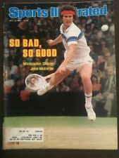 JOHN MCENROE - SPORTS ILLUSTRATED - JULY 13, 1981