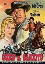Dvd CORD IL BANDITO - (1958) Western *** A&R Productions *** .....NUOVO
