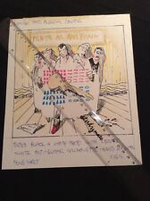 REG MOMBASSA ORIGINAL ARTWORK MENTAL AS ANYTHING THE NIPS ARE GETTING BIGGER