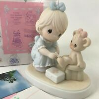 Precious Moments Caring 1994 Members Only PM941 Girl Nurse Teddy Bear
