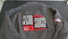 CLEAN SWEEP TV Show CAST CREW Fleece Sweatshirt LARGE Free Shipping TLC Clorox