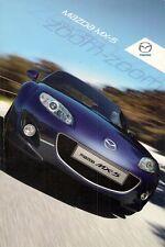 Mazda MX-5 2009-12 UK Market Sales Brochure Roadster Coupe 1.8i 2.0i