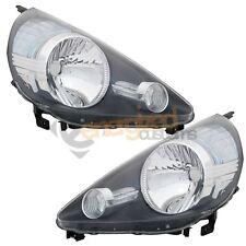 Honda Jazz Mk1 2005-2008 Headlights Headlamps 1 Pair O/S And N/S