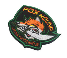 Fox Hound Special Force Group Morale Badge Usa Army U.S. Embroidered Patch -01