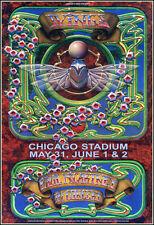 Paul McCartney & Wings Chicago Stadium 1976 Concert Poster Beatles