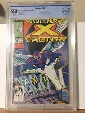 X-FACTOR #24 (Archangel 1st app) White Pages CBCS 9.8 Marvel Comics 1988 cgc