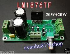 LM1876TF 20W+20W Dual Channel Stereo Audio Power Amplifier Board 20W*2 Amp