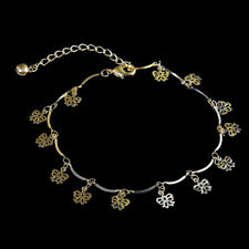 Women's Gold/Silver Plate Filled Butterfly Chain Foot Bracelet Ankle Anklet Gift