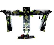 Lego Pieces Set Comic Hero Villain Speeder Green Spider Plane Replacement Bricks