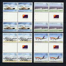 (SBAZ 141) Jamaica 1999 MNH BL OF 4 UPU 125 Anniversary AIRMAIL MAIL SHIPS PLANE