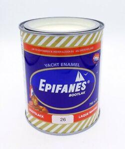 Epifanes Bootslack Nr.26 hell elfenbein  0,75 Liter