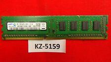 Samsung 2gb 1rx8 pc3-12800 (ddr3-1600), ddr3 SDRAM, 1600 MHz de memoria de escritorio