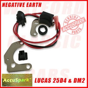 Electronic Ignition Jensen Healey 2L & GT 1972-75 Fitted With A Lucas 23/25D4