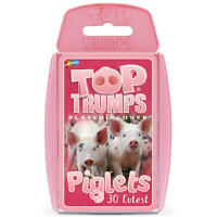 Top Trumps Card Game Piglets - Absolutely Adorable - 'Oink, oink