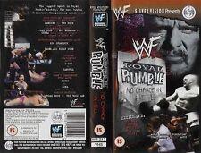 WWE Royal Rumble 1999 VHS orig WWF wrestling Mankind vs The Rock