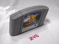 Free Shipping Hey You, Pikachu Genki De Chu (Nintendo 64 1998) Japan Version Z48