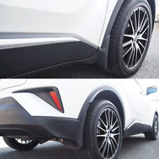 4XBlack ABS Mud flaps Mudguard Dirt Fender Cover For Toyota C-HR CHR 2018