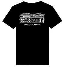 Nagra IV-S Reel to Reel Tape Recorder printed HEAVY WEIGHT T-Shirts S - 5XL