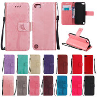 For Apple iPod Touch iTouch 5 / 6 Wallet PU Leather Card Slots Stand Case Cover
