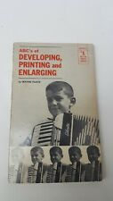 ABCS OF DEVELOPING, PRINTING AND ENLARGING BOOK 1964 AMPHOTO BETTER PHOTO GUIDES