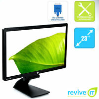 "HP EliteDisplay E231i 23"" Widescreen 1920x1080 FHD IPS LED LCD Monitor Grade B"