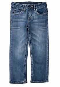 Lee Boys Premium Select Slim Straight Leg Jeans Faded Medium Wash