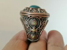 Very Rare Ancient Solid Ring Viking Bronze Authentic Artifact Very Stunning