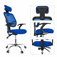 Modern Ergonomic Mesh Fabric Adjustable Executive Computer Desk