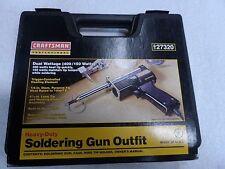 Craftsman Professional Dual Heavy-Duty Soldering Gun USA (400/150 W) - p/n 27320