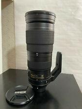 NIKON AF-S 200-500mm 1:5.6E ED VR LENS - NIKKOR AFS f/5.6 E 200-500 mm