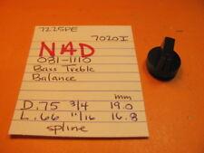 Nad 081-1110 BASS TREBLE BALANCE Regler 7225PE 7020I Receiver
