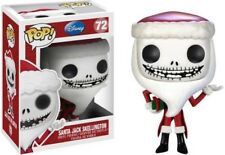 Disney Pesadilla Antes de Navidad Santa Jack Skellington! Funko Pop! Vinilo.