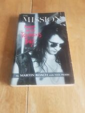 """The Mission """"Names Are For Tombstones Baby"""" paperback book. by Martin Roach"""