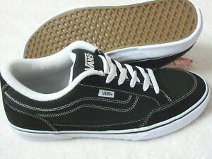 Vans Men's Bearcat Canvas Classic Skate shoes Black White Size 12 VN000DT2BZW