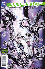 Justice League vol 2 issue 45 monsters month variant signed by Francis Manapul
