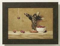 Cherry Fu-Giclee Print on Canvas-Kung Fu, Framed, Still Life-Realism-Ltd Edition
