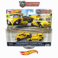 Hot Wheels Team Transport Volkswagen Classic Beetle Volkswagen T1 Pickup