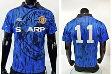 1992-93 Umbro Manchester United Away Shirt GIGGS #11 SIZE S (adults)