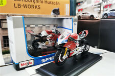 1/18 Ducati Panigale V4 S CORSE DieCast Bikes Motor by Maisto
