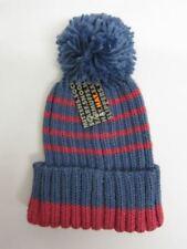 Accessori berretti blu acrilici per bambine dai 2 ai 16 anni