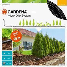 GARDENA Micro-Drip-System Start-Set Pflanzreihen M, Tropfsystem, schwarz