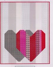Pop Heart - quick and easy pieced quilt PATTERN - Kelli Fannin
