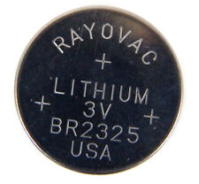 Rayovac 3V Lithium Coin Battery NEW BR2325