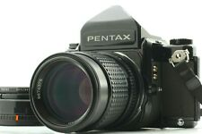 [Near MINT ] Pentax 67 Eyelevel Finder w/ SMC165mm f/2.8 Lens from Japan #1998-1