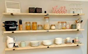 RECLAIMED ✅Scaffolding Shelf Scaffold Board Rustic Shelves  - 100% positive